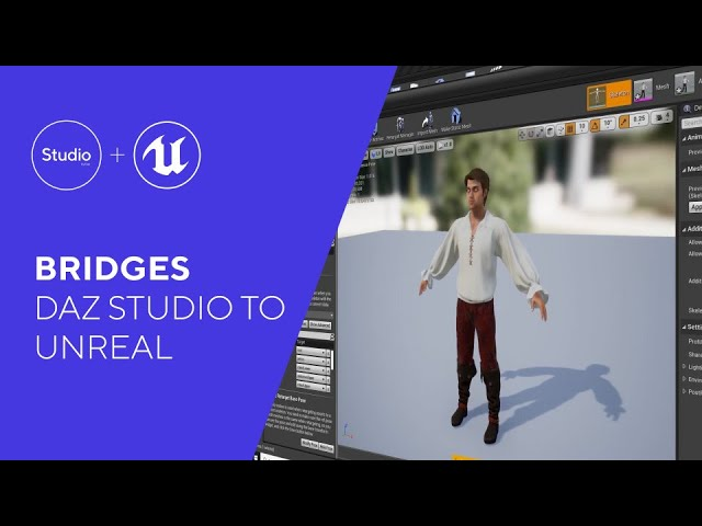 Daz Bridges Tutorial - Daz to Unreal