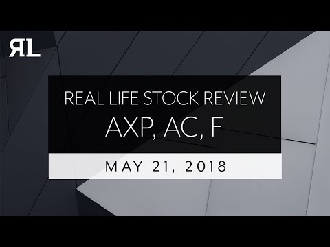 Real Life Stock Review May 21st, 2018