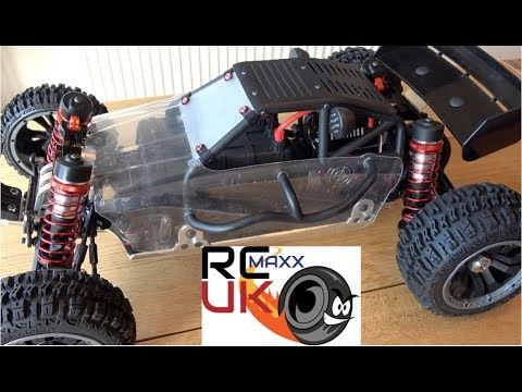 NEW ! UFRC Growler X1 GRX-1 8s Brushless 1/5 Scale Buggy REVEAL!!!