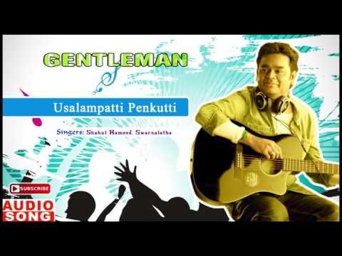 Usalampatti Penkutti Song | Gentleman Tamil Movie | Arjun | Madhoo | AR Rahman | Music Master