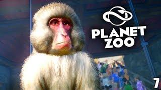 PLANET ZOO - 7 - Japanmakak & Zugfahrt | Speed Build | Planet Zoo Deutsch ► Franchise Mode