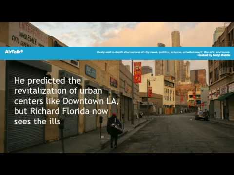 "Richard Florida talk ""The Rise of the Creative Class"" on KPCC"
