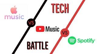 Gambar cover Apple Music vs YouTube Music vs Spotify