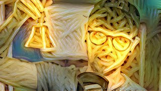 Someone made me completely out of spaghetti