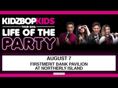 The KIDZ BOP Kids: Life Of The Party Tour at FirstMerit Bank Pavilion on August 7, 2016