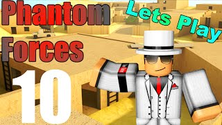 [ROBLOX: Phantom Forces] - Lets Play w/ Friends Ep 10 - Friends Try ROBLOX For First Time!