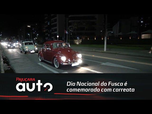 Dia Nacional do Fusca é comemorado com carreata em Maceió