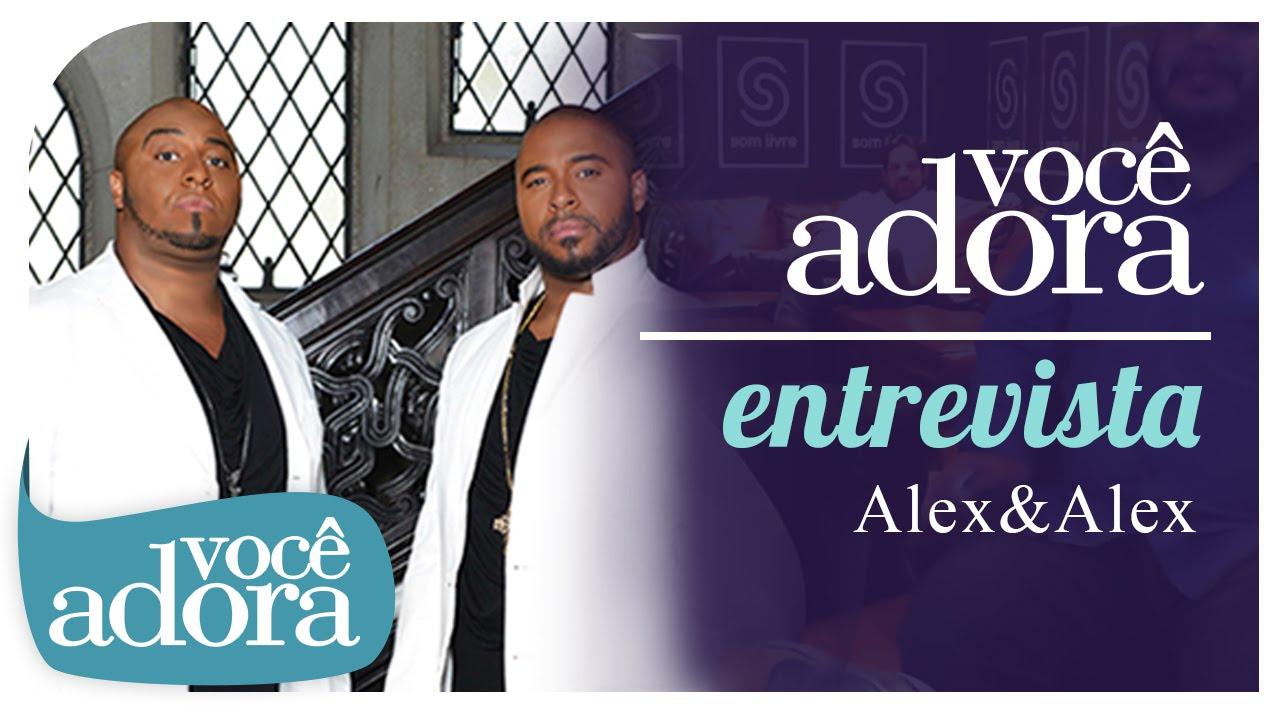 Você Adora Entrevista - Alex & Alex e novo álbum Tribo do Leão (Hangout)