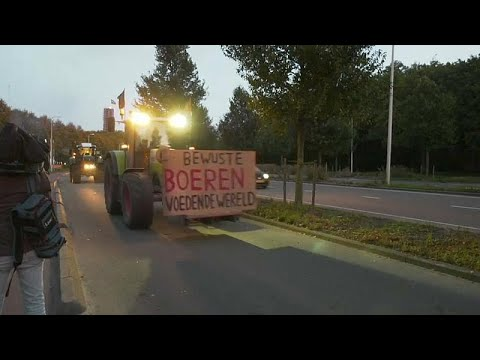 France 24:Watch: Tractor convoy heads to The Hague as Dutch farmers protest 'negative image'