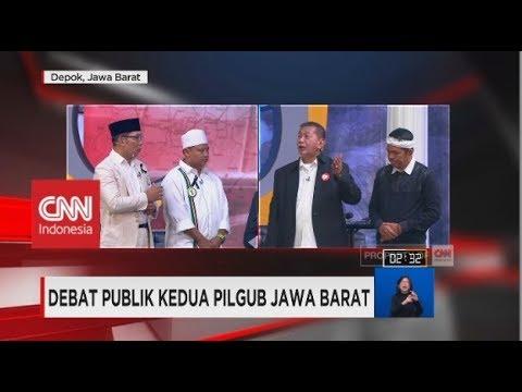 Dikritik Soal Citarum, Deddy: Itu Urusan Pemerintah Pusat | Debat Publik Kedua Pilgub Jabar (5/6)