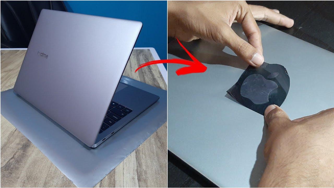 RealmeBook Converted into Macbook Air   Realme Book Slim   MacBook Air M1