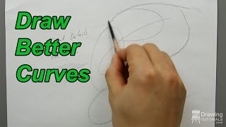 Basic Drawing Technique - How To Draw Better Curves