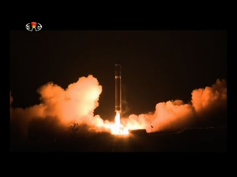 NKorea TV Shows Ballistic Missile Launch Video