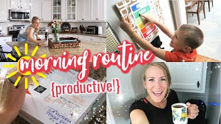 PRODUCTIVE FALL MORNING ROUTINE 🧡 Our 5 organized secrets!