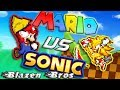 Mario Vs Sonic | Bash [Sprite Animation] | Blazen Bros