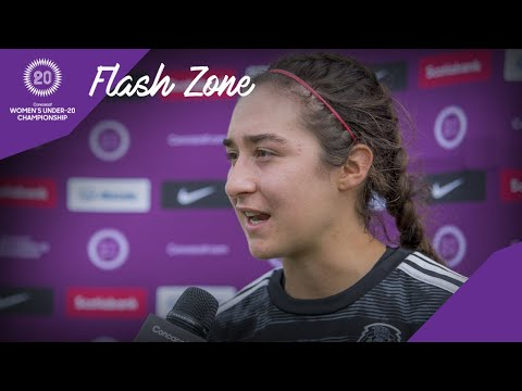CU20W 2020 F: United States vs Mexico | Flash Zone Interview with Flores