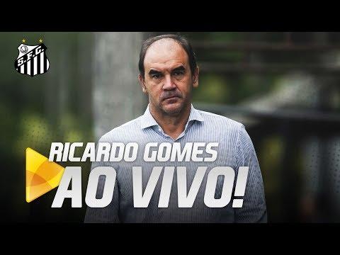 RICARDO GOMES ANUNCIA CUCA COMO TÉCNICO DO PEIXE | AO VIVO (30/07/18)