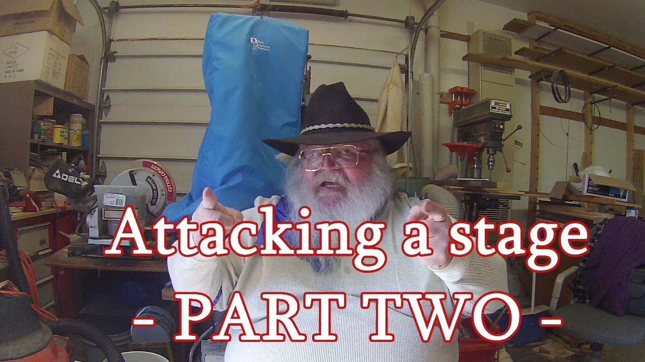 Attacking A Stage - Part Two (Cowboy Action Shooting)
