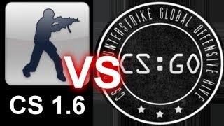 CS 1.6 VS CS:GO