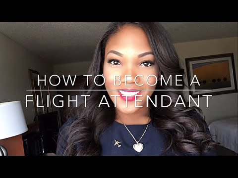How To Become a Flight Attendant! Video Interview, F2F Inter