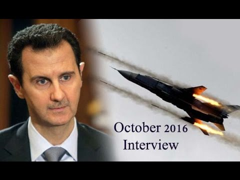 Interview of the Syrian President Bashar al-Assad October 2016