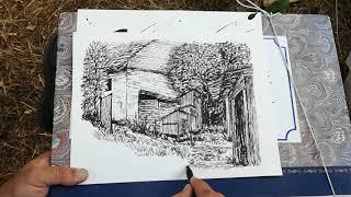 Drawing in Chropov Slovakia