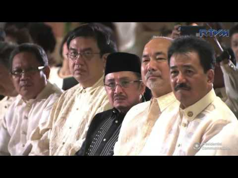 Oath-Taking of Newly Appointed Officials (Speech)  9/12/2016