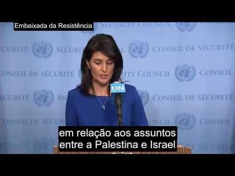 """""""Embaixadora de Trump"""" puxa as orelhas à ONU"""