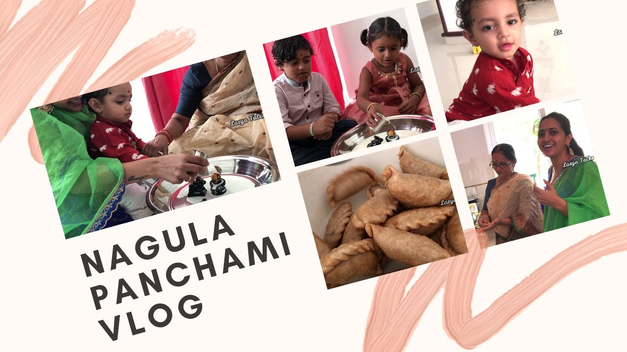 Lasya Talks || Nagula Panchami Vlog ||