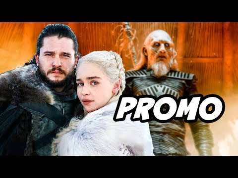 Game Of Thrones Season 8 Promo - Daenerys and Jon Snow Breakdown