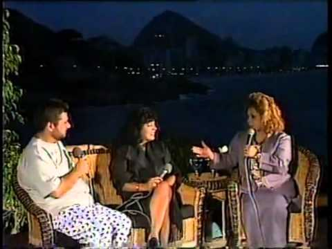 Angela Maria e Roberta Miranda conversam no Prog Por Acaso TV Manchete