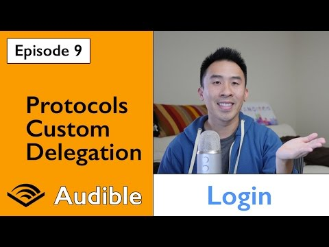 Swift 3: Audible - Protocols and Custom Delegation (Ep 9)
