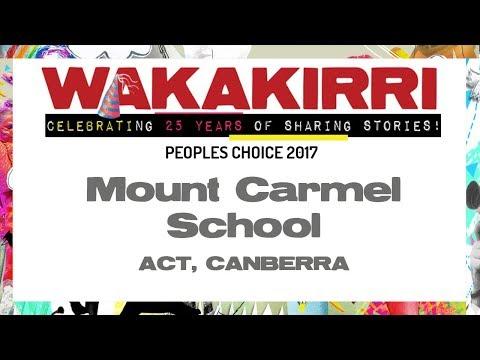 Mount Carmel School | Peoples Choice 2017 | ACT, Canberra | WAKAKIRRI