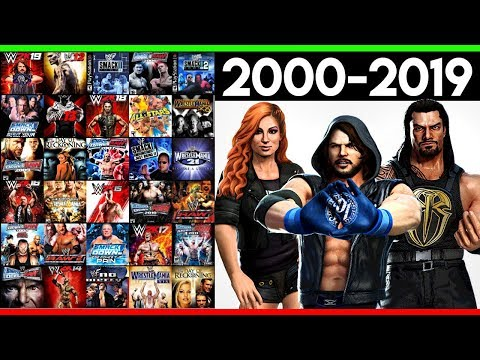 Ranking WWE Games From WORST To BEST! (2000-2019)