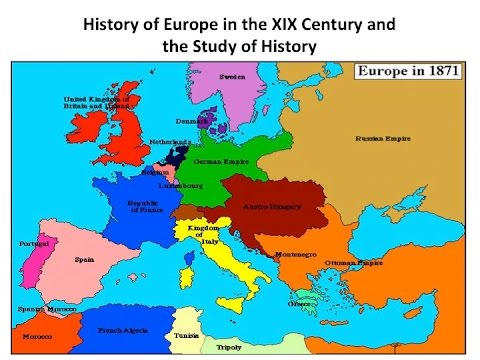 HS EU19 01 - History of Europe in the XIX Century, Introduction
