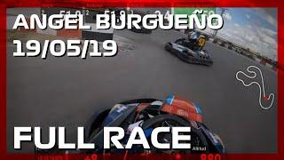 2019 Ángel Burgueño CKRC GP5: +60 karting first race [Telemetry]