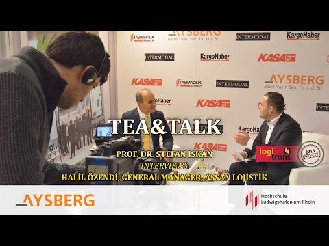 Tea & Talk logitrans 2016: Prof. Dr. Stefan Iskan interviews Halil Özendi