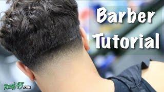 Barber Tutorial! Messy Top Taper | Mens Hairstyle
