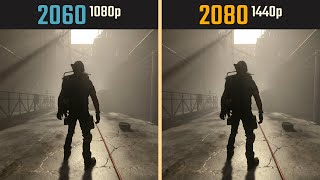 RTX 2060 1080p vs. RTX 2080 1440p (Test in 10 Games)