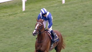 New star for Frankel? Mohaafeth wins dramatic Hampton Court Stakes!