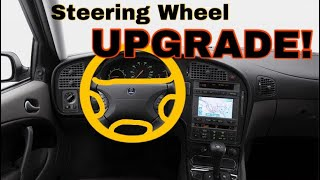 Steering Wheel Upgrade In The Saab 9-5