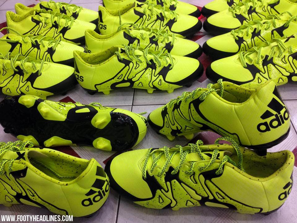 newest faf30 5de23 New Adidas X 15.1 Football Boots Leaked