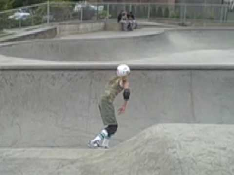 Skateboarder Justyce Tabor