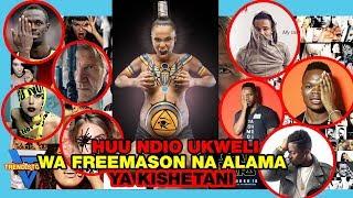 HUU Ndio ukweli wa FREE MASON na HIVI NDIVYO WASANII wanavyo MTUMIKIA SHETANI BILA KUJUA