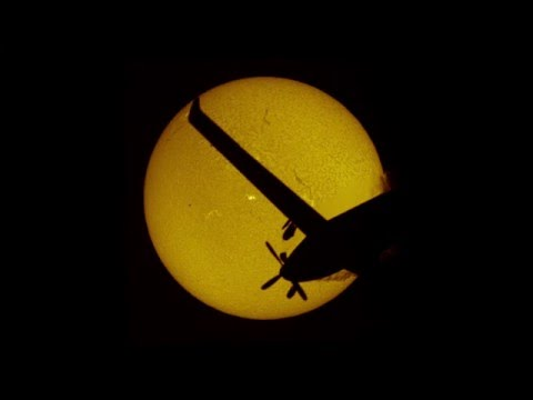 Double solar transits of Mercury with the ISS and a plane
