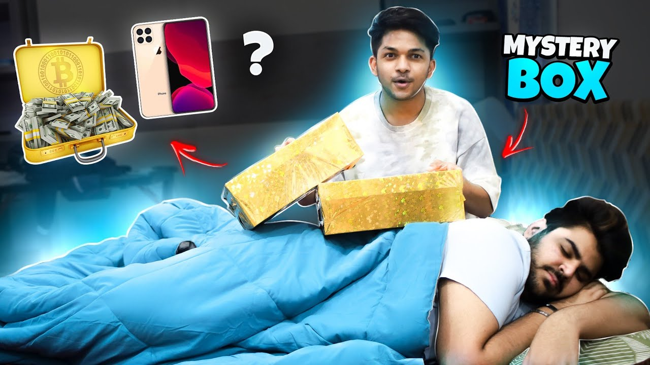 Surprising My Friends With Mystery Box 😱😱😱