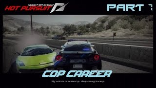 Need for Speed Hot Pursuit (PS3) - Cop Career [Part 7]