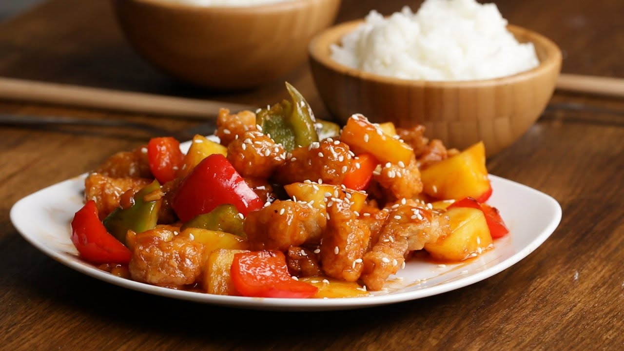 Sweet And Sour Pork - YouTube