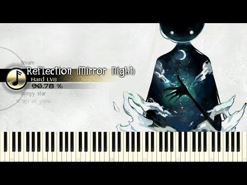 ♪ V.K克: Reflection (Mirror Night) - Piano Tutorial