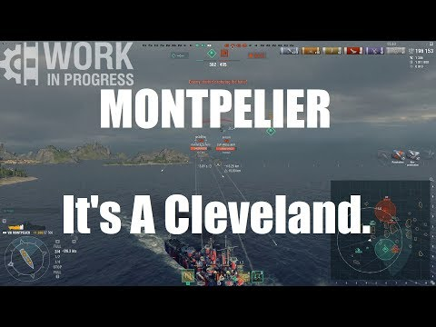 USS Montpelier - It's A Cleveland!